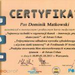 certyfikat 15 - Dental Comfort