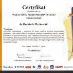 certyfikat 28 - Dental Comfort