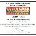 certyfikat 39 - Dental Comfort