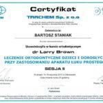 certyfikat 50 - Dental Comfort