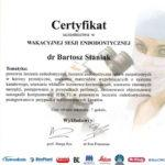 certyfikat 58 - Dental Comfort