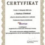certyfikat 74 - Dental Comfort