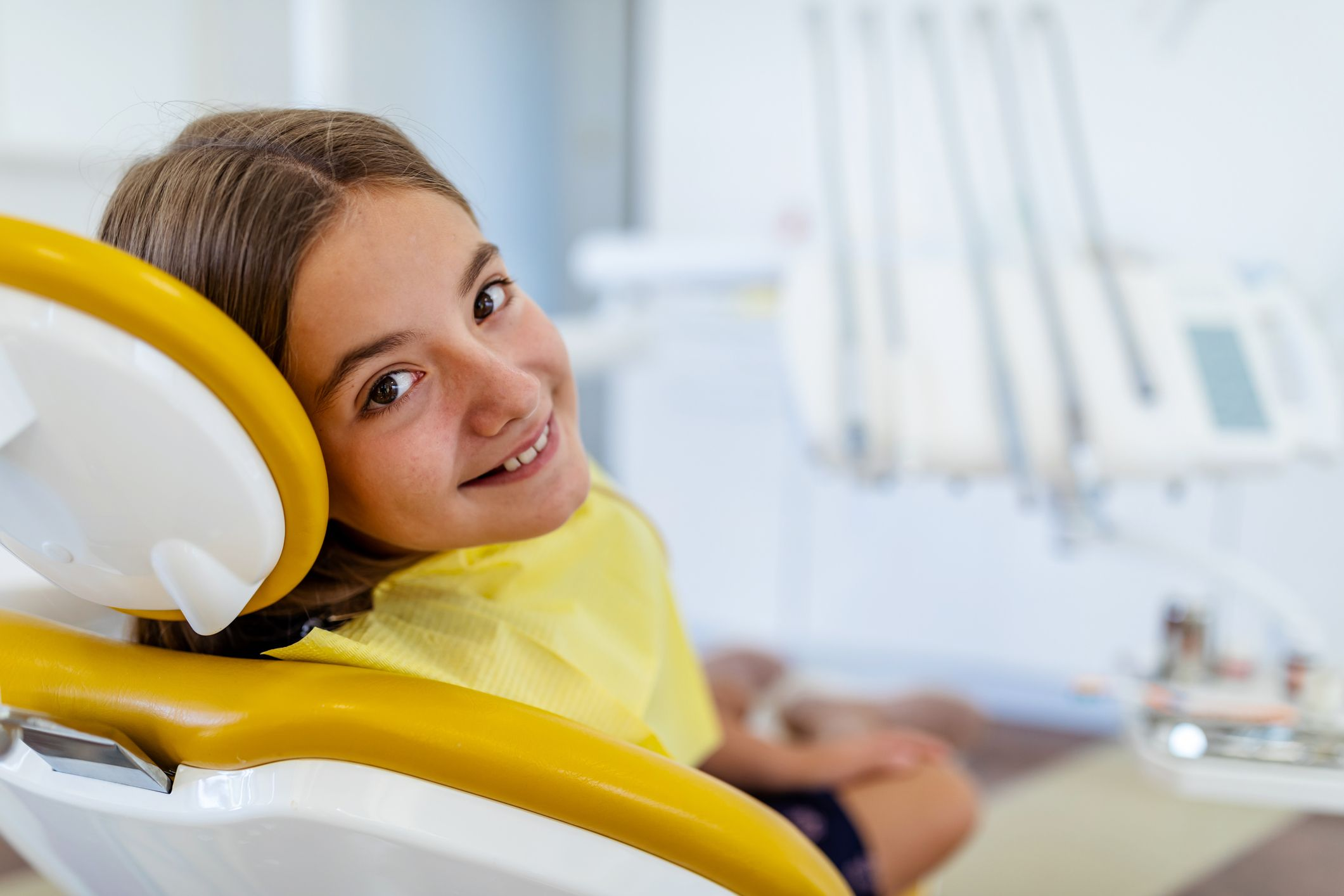 dziecko u dentysty